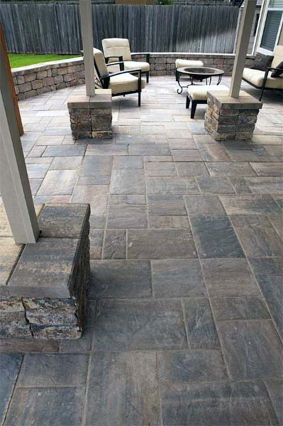 Top 50 Best Stamped Concrete Patio Ideas - Outdoor Space ... on Back Concrete Patio Ideas id=39702