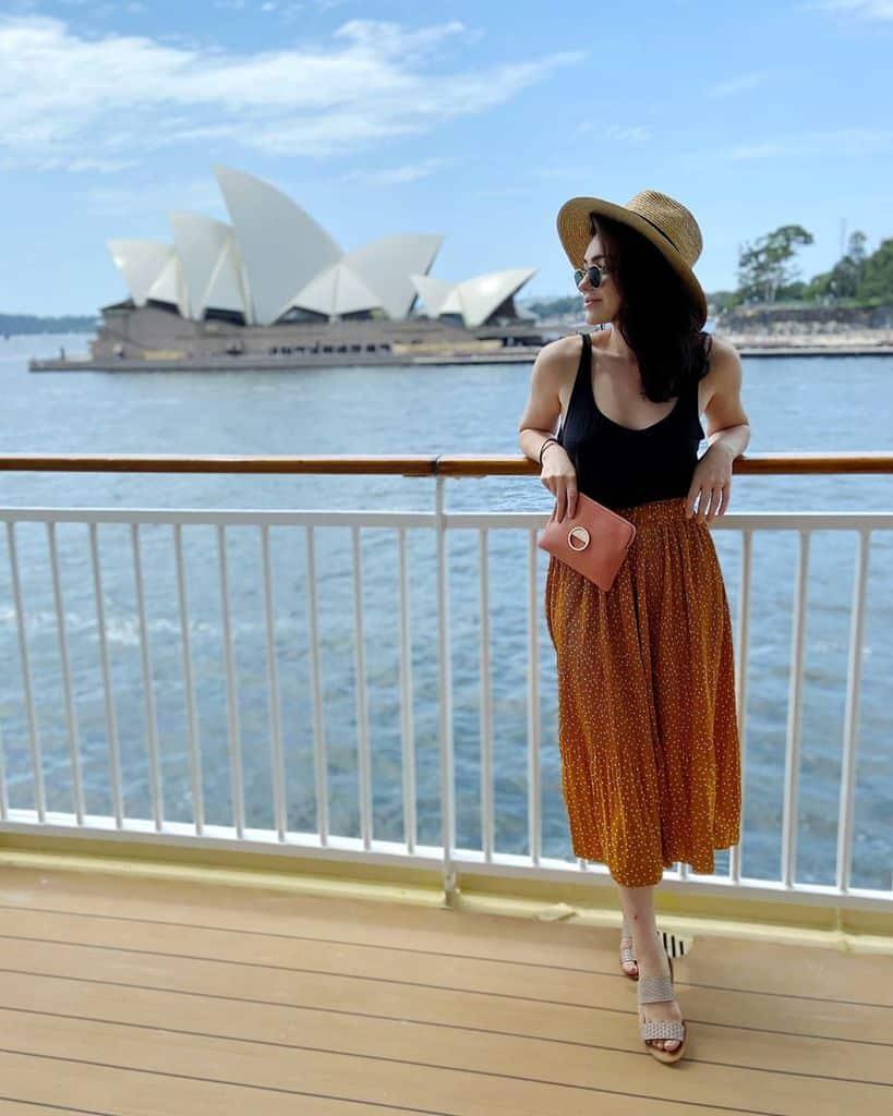 Tenue de jupe ample d'été cool