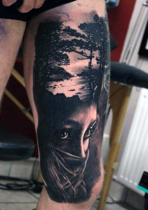Cool Surrealism Tattoo Design Ideas For Male