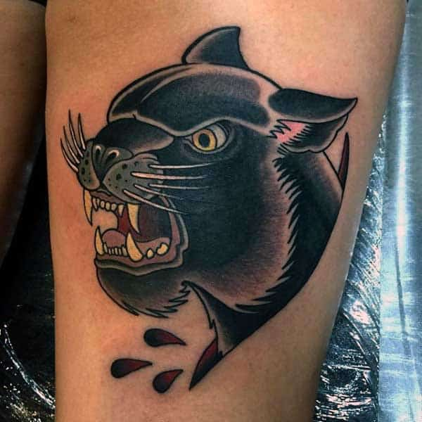 Cool Tattoos Panther For Men