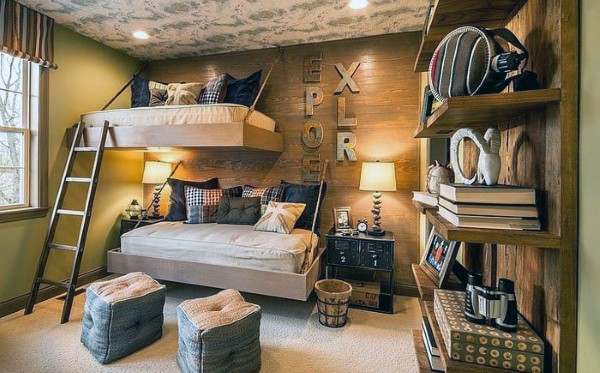 cool teen boy bedroom ideas - Cool Bedroom Ideas