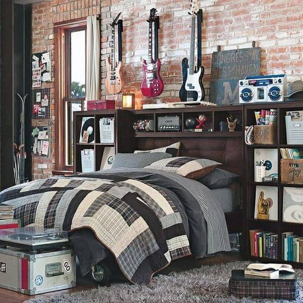 Cool Teenage Bedrooms Boys