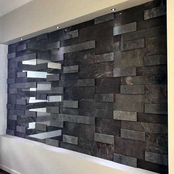 Cool Textured Wall Design Ideas Polished Tiles