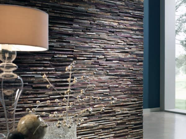 Cool Textured Wall Rustic Stacked Stone