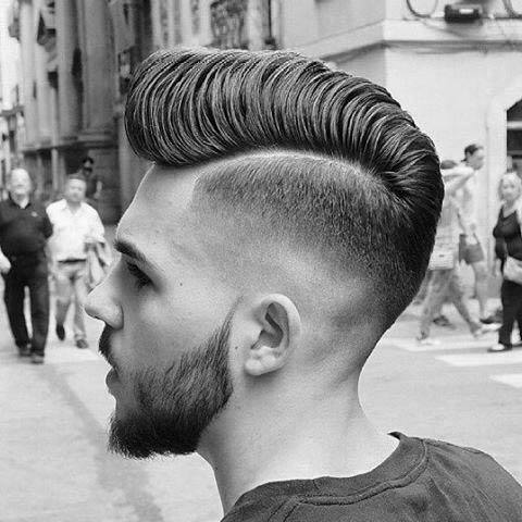 Cool Thick Hair Medium Length Hard Part Haircuts For Males