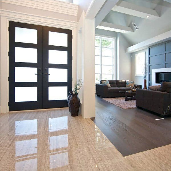 Cool Tile To Hardwood Flooring Transition Design Ideas