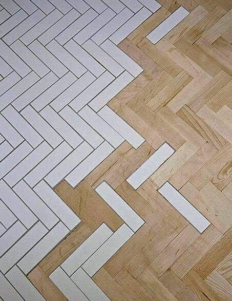 Cool Wooden Flooring Designs For 2017: Top 70 Best Tile To Wood Floor Transition Ideas