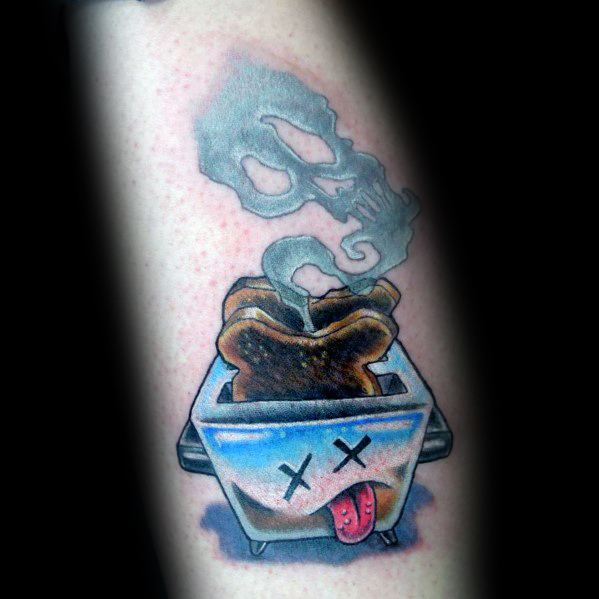 Cool Toast Tattoos For Men