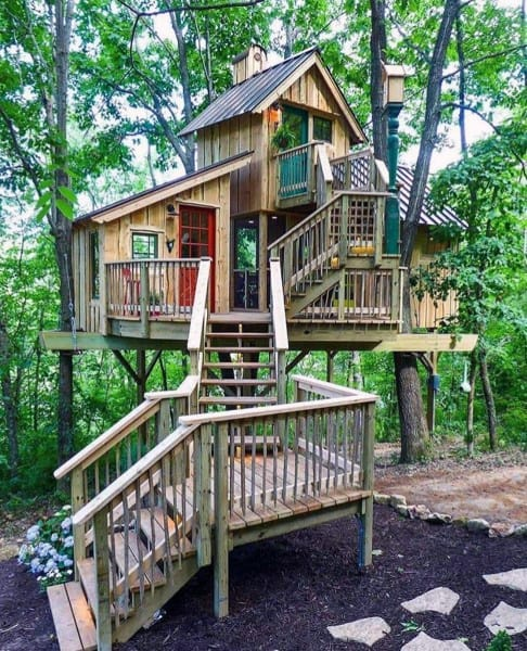 Cool Tree Fort Ideas