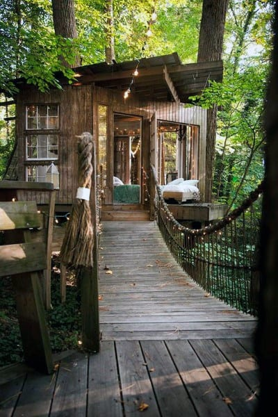 Cool Tree House Idea Inspiration