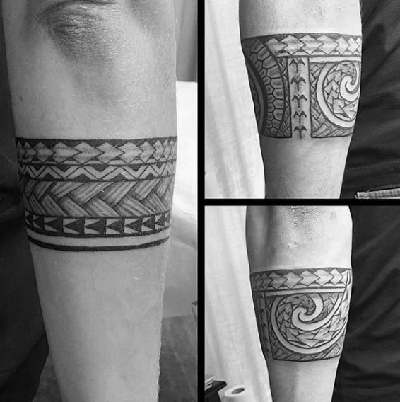60 tribal forearm tattoos for men manly ink design ideas for Cool forearm tattoos