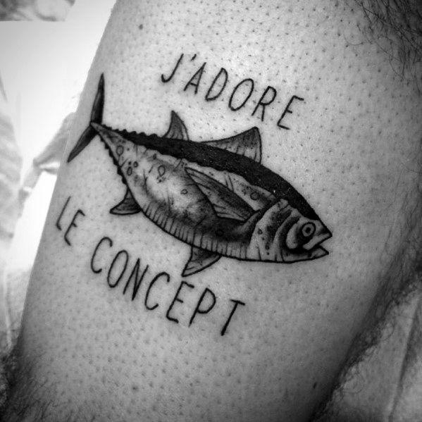 Cool Tuna Tattoos For Men