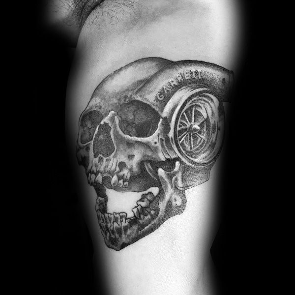 Cool Turbo Tattoos For Men