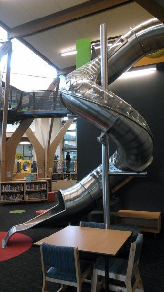 Cool Two Story Indoor Slides