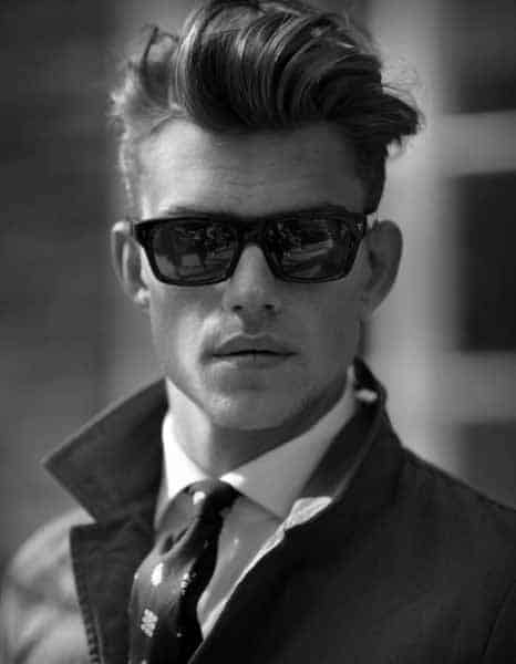 Cool Undercut Modern Haircut For Men