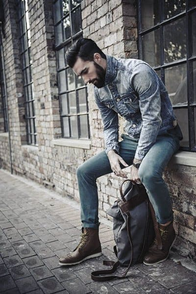 Cool Unique Casual Wear Styles For Men All Denim Looks