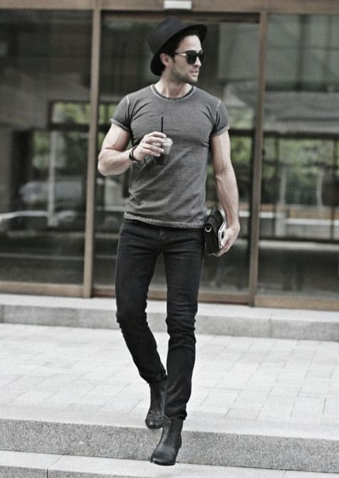 Cool Unique What To Wear With Black Jeans Outfits Styles For Men