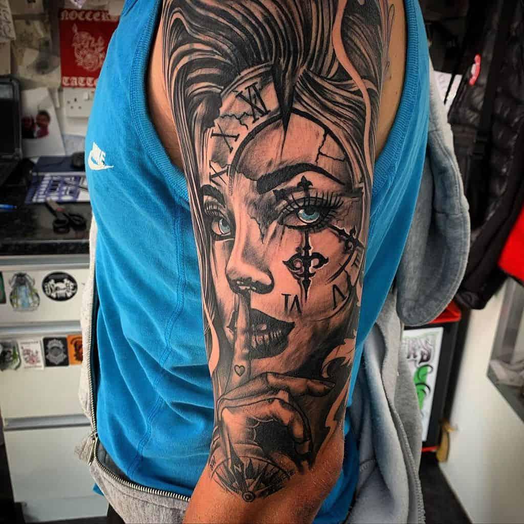 Top 61 Best Upper Arm Tattoo Ideas For Men - 2021