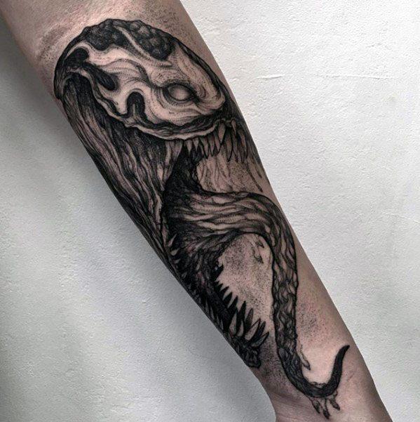 60 venom tattoo designs for men marvel ink ideas. Black Bedroom Furniture Sets. Home Design Ideas
