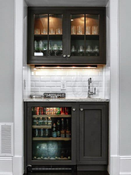 Top 40 Best Home Bar Designs And Ideas For Men: Cool Entertaining Space Designs