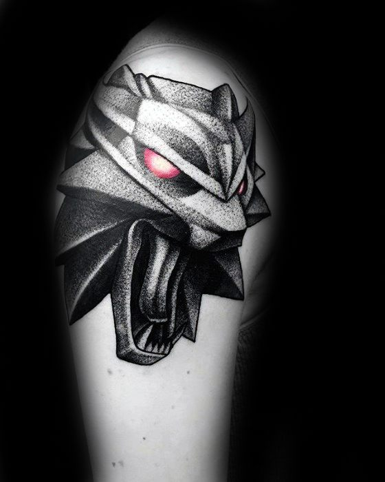 Cool Witcher Tattoo Design Ideas For Male