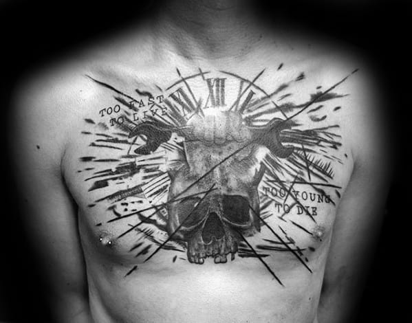 Cool Wrench Tattoo Design Ideas For Male