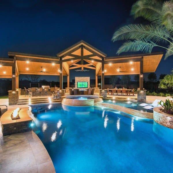 Top Best Cool Backyard Ideas Outdoor Retreat Designs