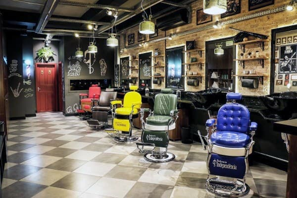 Coolest Barber Shop Design Ideas