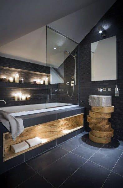 Coolest Shower Bathtub Combo Bathroom Designs