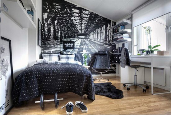 Coolest Teen Boy Bedroom Design Ideas