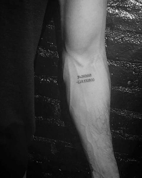 Coordinate Mens Tattoos