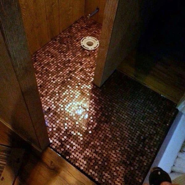 Copper Penny Floors