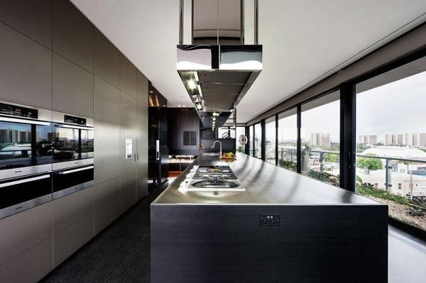 Coppin Penthouse Kitchen Counters Design