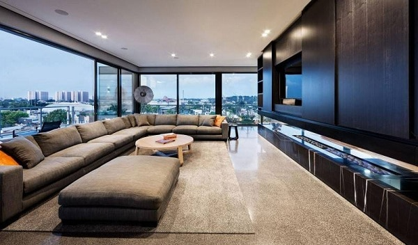 Coppin Penthouse Living Room