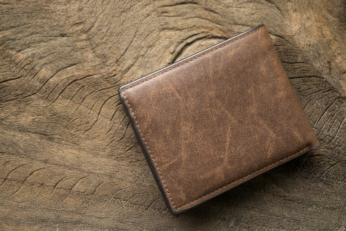 Corkor Minimalist Front Pocket Cork Wood Mens Wallets