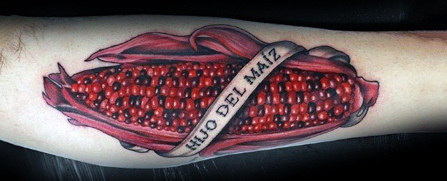 50 Corn Tattoo Ideas For Men – Maize Designs