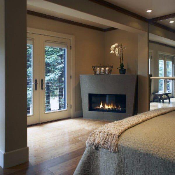 Corner Fireplace Design Inspiration