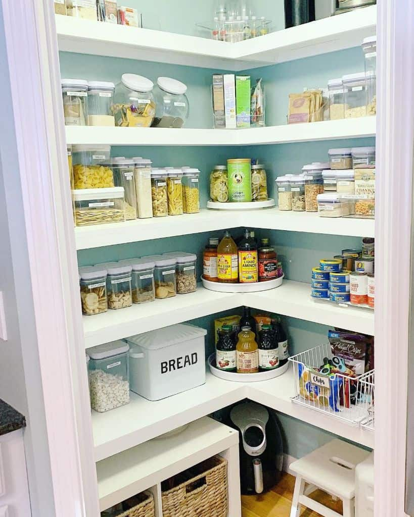 The Top 49 Pantry Shelving Ideas Home Organization Ideas