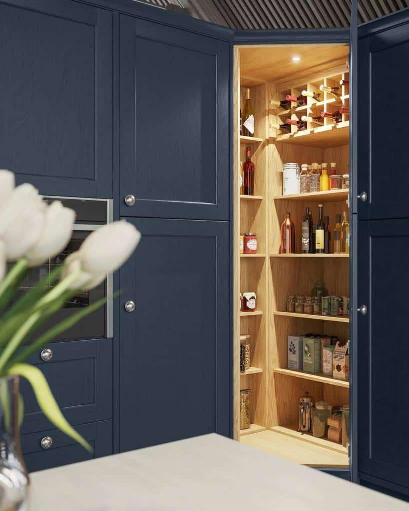 corner small pantry ideas moultonkitchens