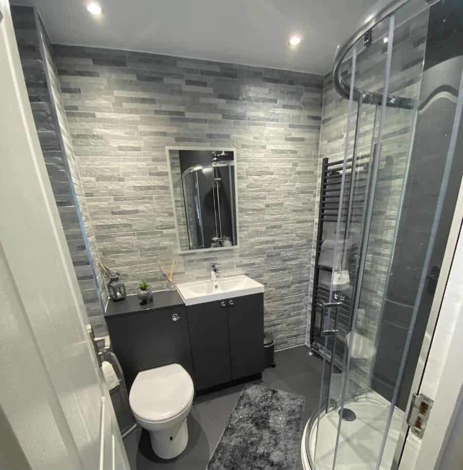 Corner Small Shower Ideas Dimorabuildersltd
