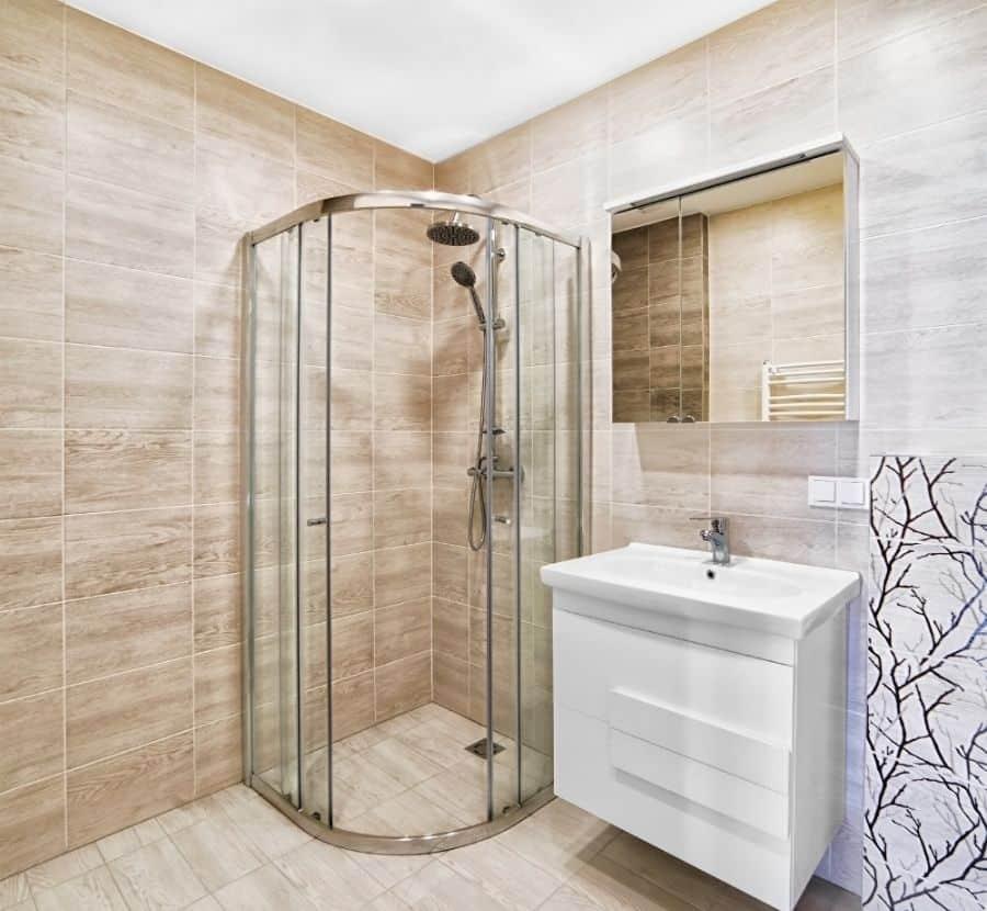 Corner Small Shower Ideas