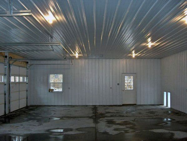Corrugated Roofing Sheets Garage Ceiling Ideas