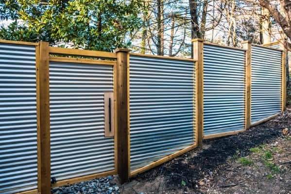 Top 50 Best Privacy Fence Ideas - Shielded Backyard Designs on Decorations For Privacy Fence id=76780