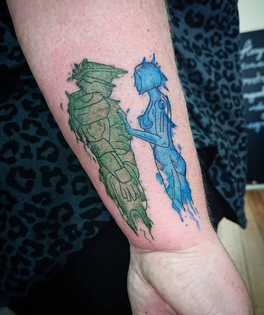 Top 37 Best Halo Tattoo Ideas