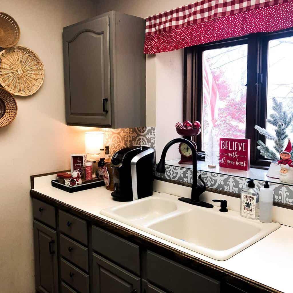 cottage kitchen curtain ideas miamagic72