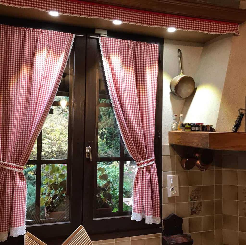 cottage kitchen curtain ideas monique.vintage