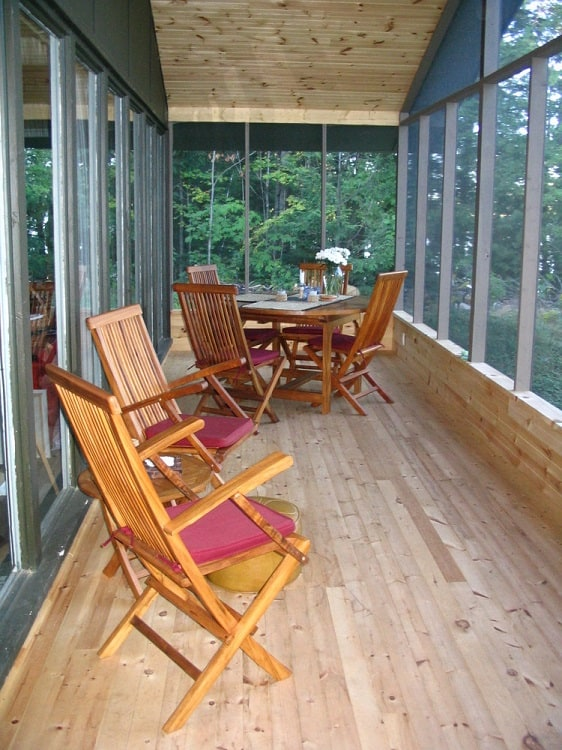 Cottage Veranda Screened In Porch