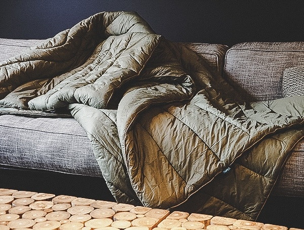 Couch Rumpl The Original Burnt Olive Two Person Blankets Review