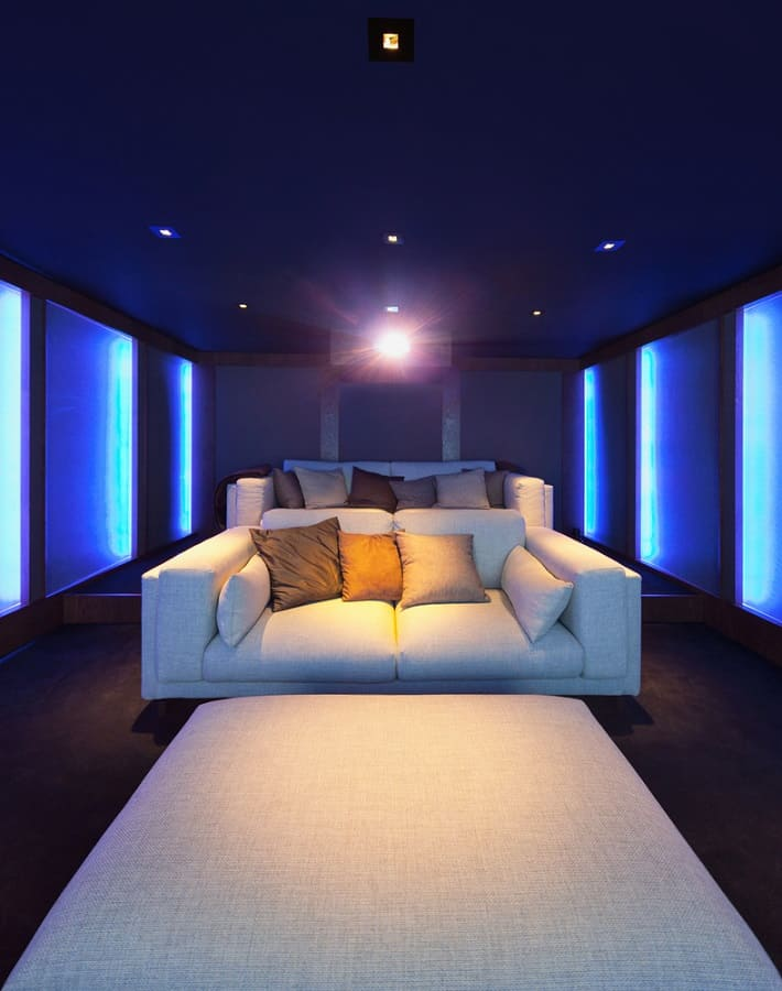top 70 best home theater seating ideas movie room designs. Black Bedroom Furniture Sets. Home Design Ideas