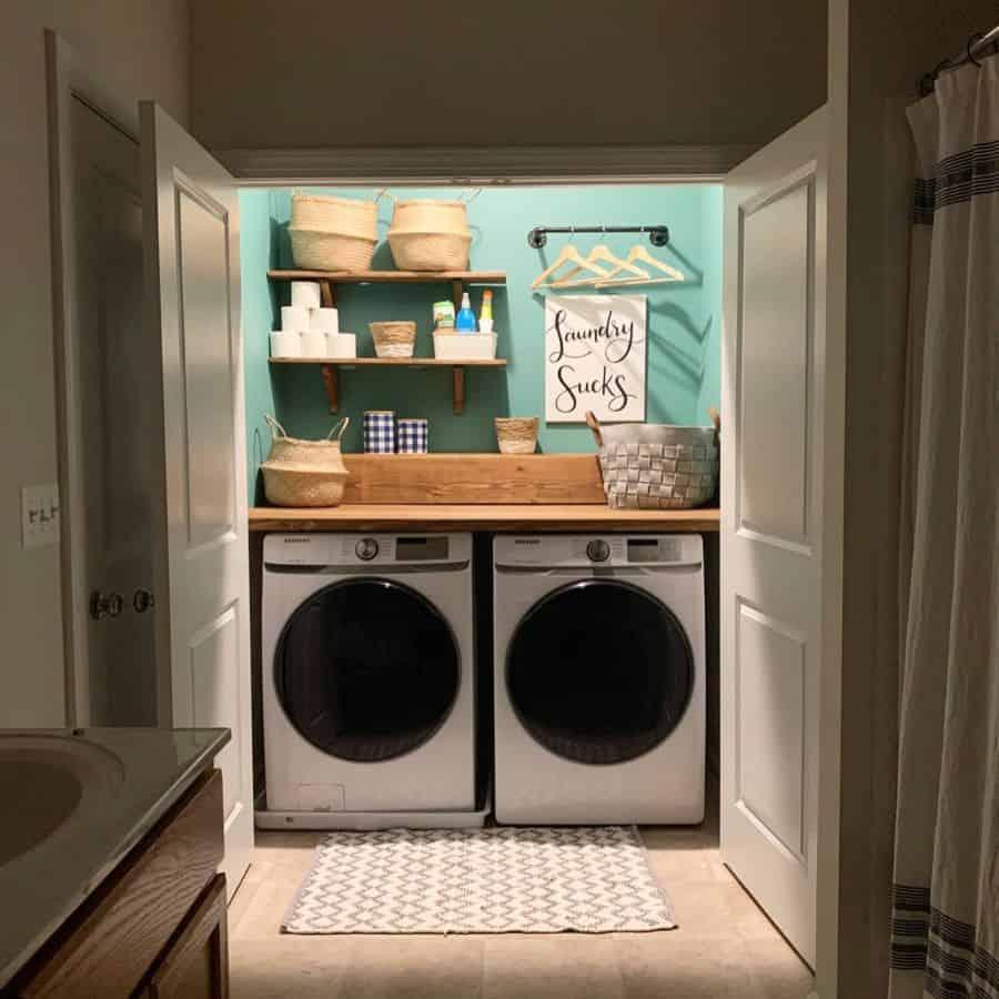 counter laundry closet ideas handmadeafco
